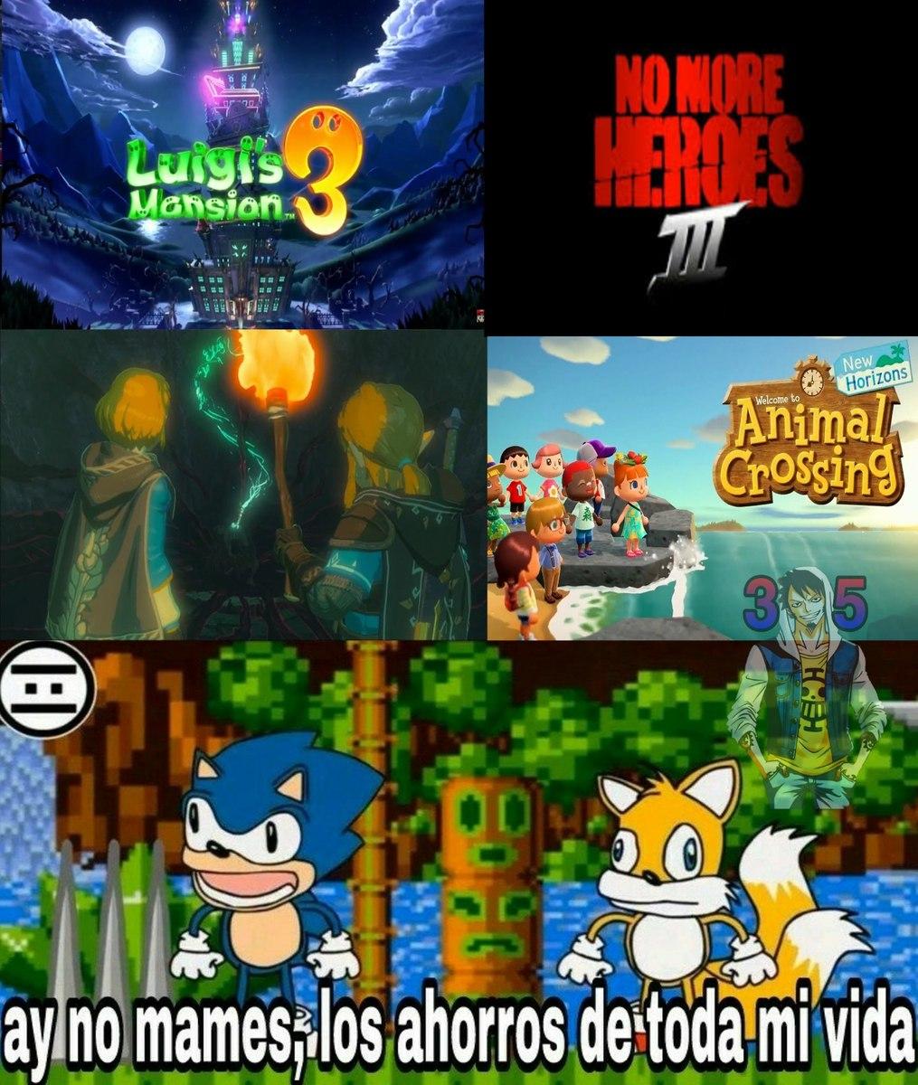 Mis favoritas fueron la de Nintendo y la de Microsoft - meme