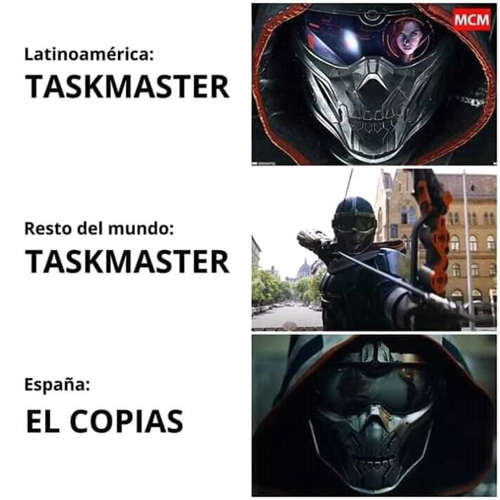 Taskmaster - meme