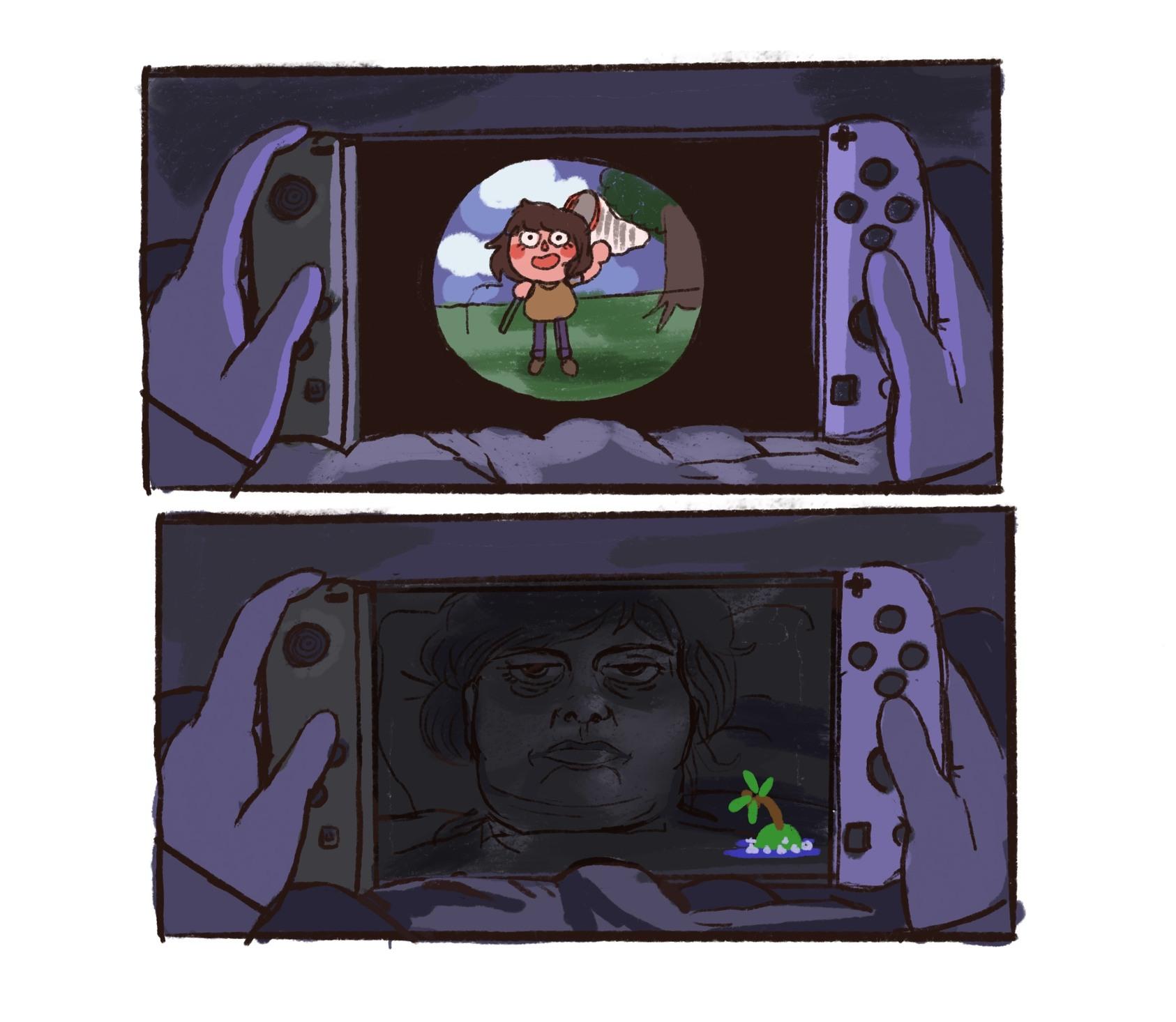 Black screens... - meme