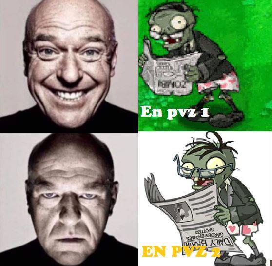 si que odio a ese zombie - meme
