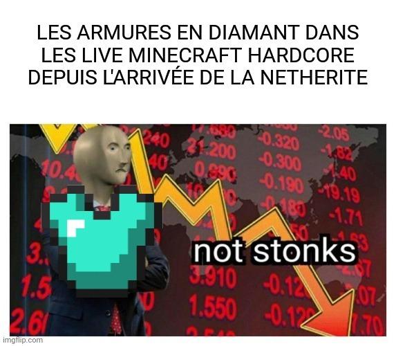 Very Not stonks - meme