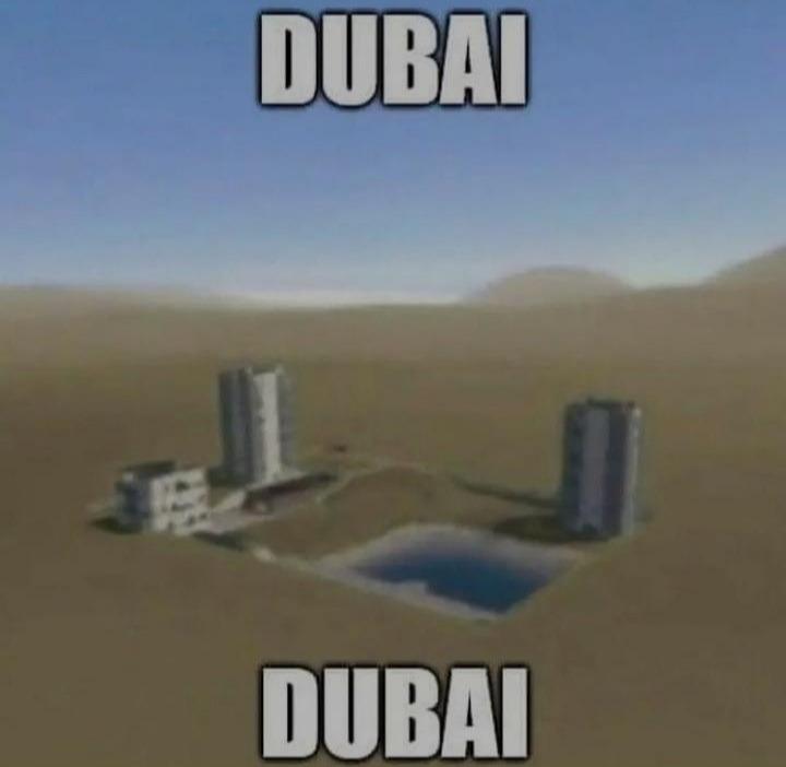 Dubái - meme