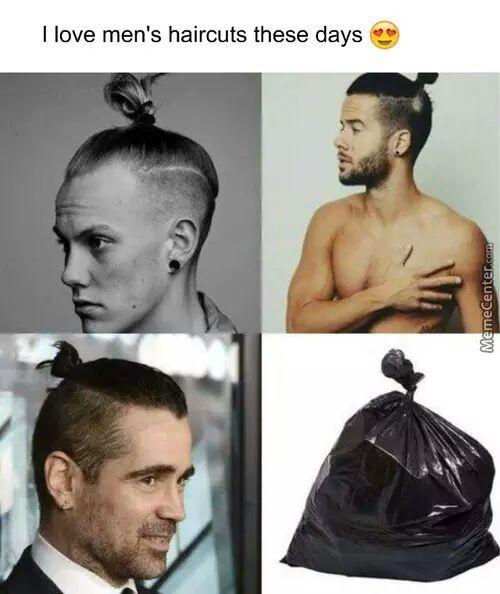 fashion literally thrashes everything these days... - meme