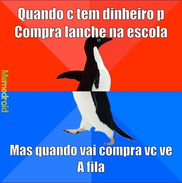 flws lanche - meme