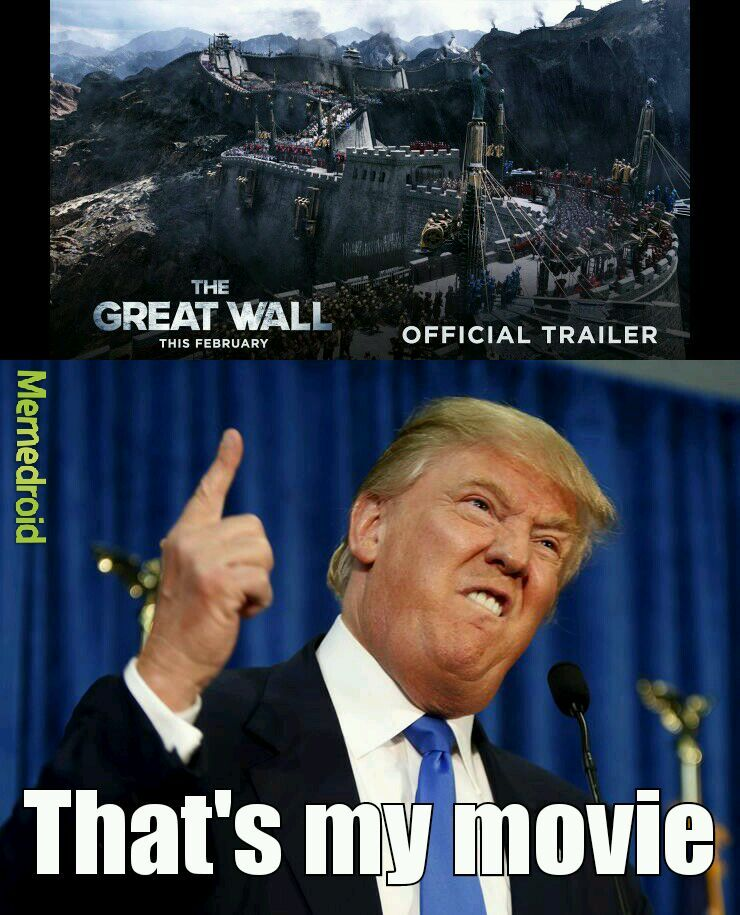 Directed by Donald J. Trump