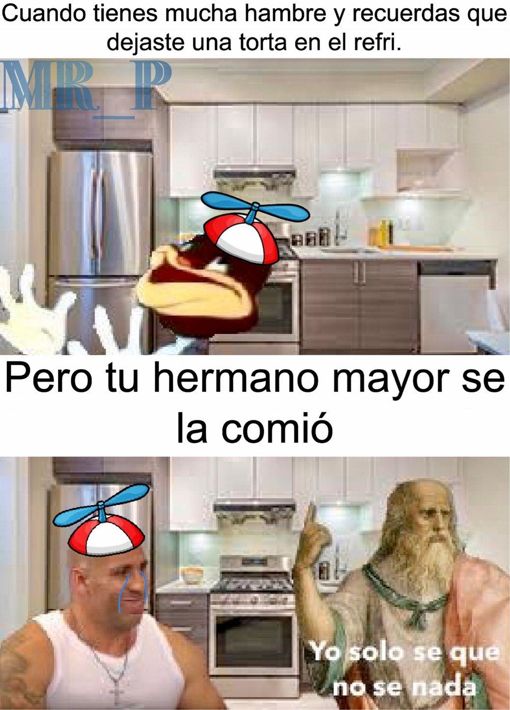 QUIEN SE COMIO MI TORTA!!!! - meme