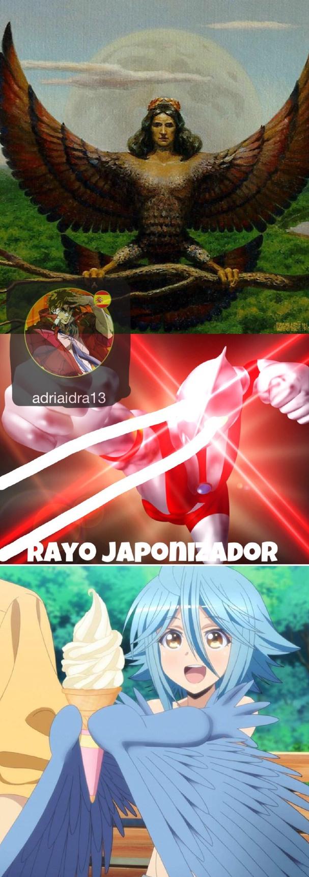 rayo japonizador - meme