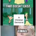 Ei Ei Eimael, o democrata cristão