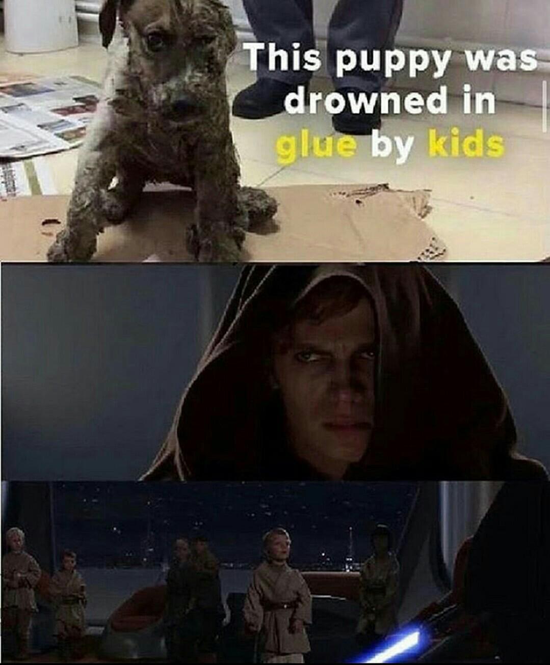 Toda criança é um potencial anti-cristo - meme