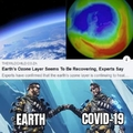 Well earth did it