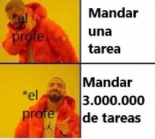 $%** TAREAS - meme
