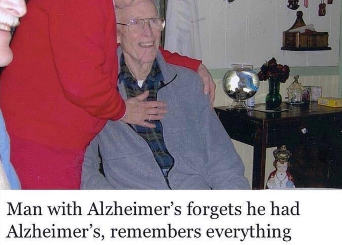 Alzheimers^2 - meme