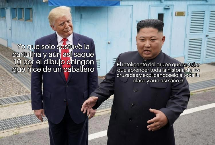 Este mem es por ti Trump que ya no eres presidente :( - meme