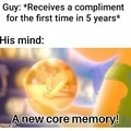 Compliment every guy in the comments.