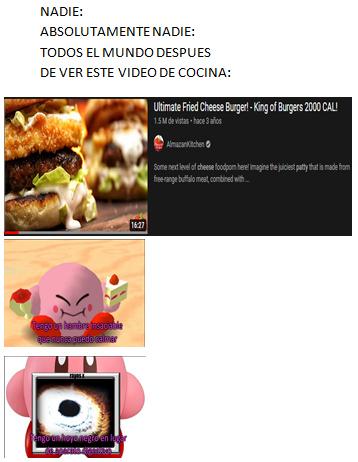 hamburguesa - meme
