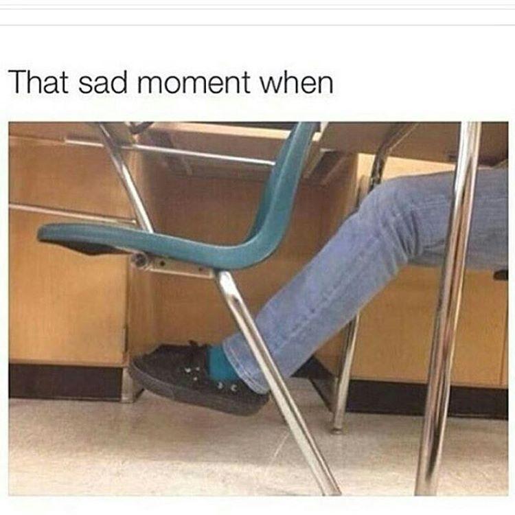 High school struggles - meme