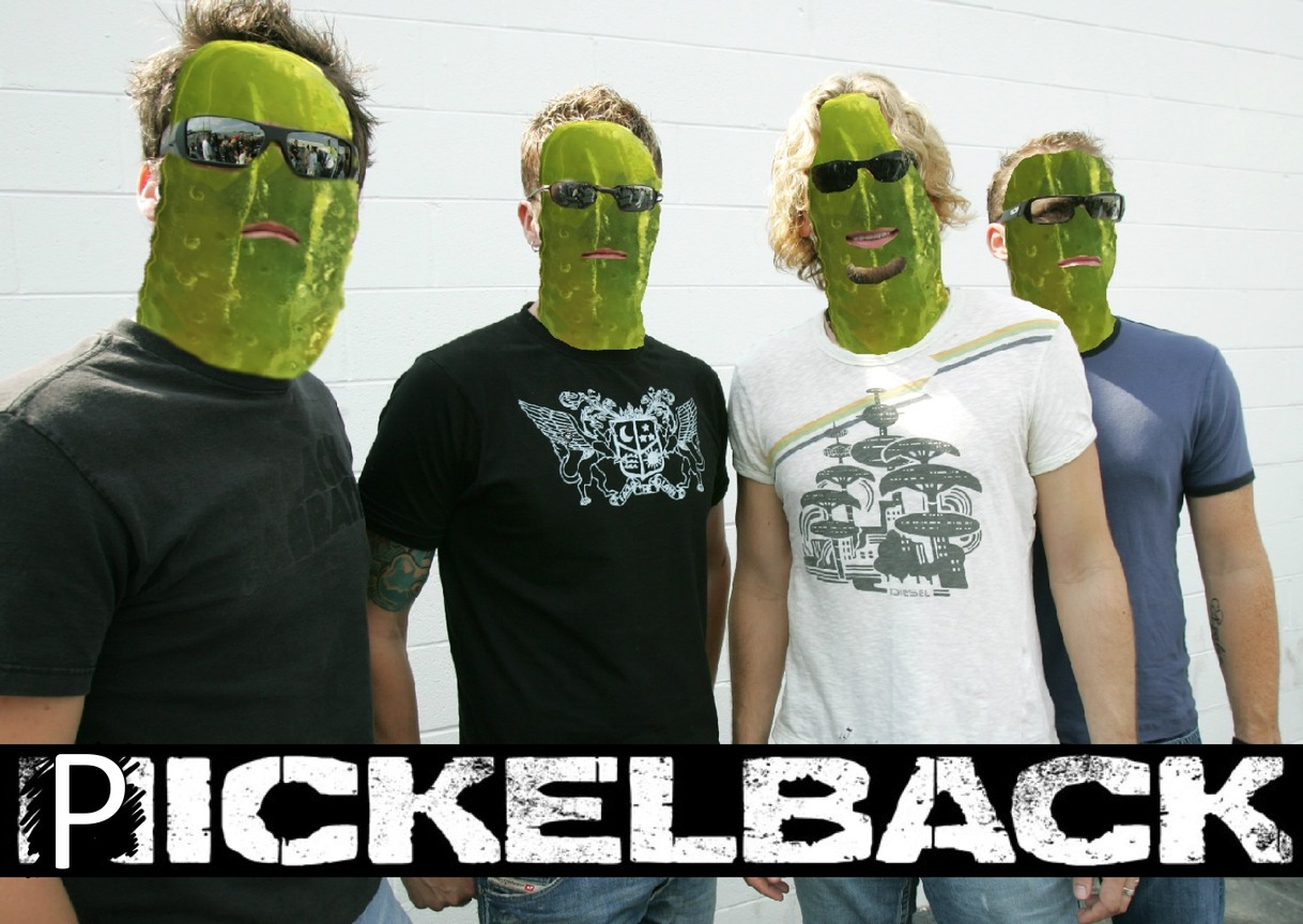 Pickelback - meme