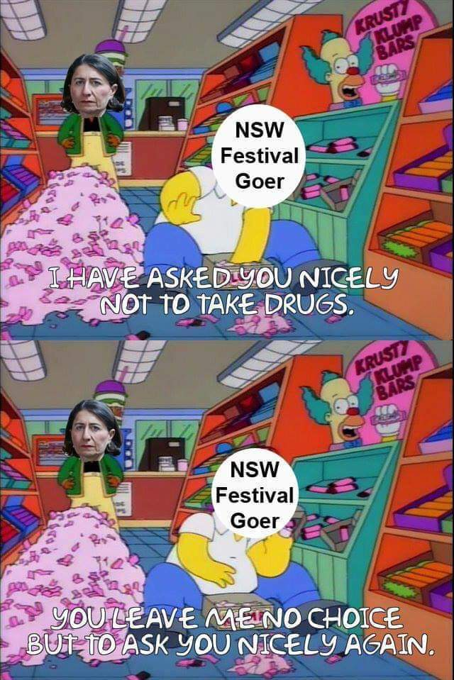 New south wales, australia - meme
