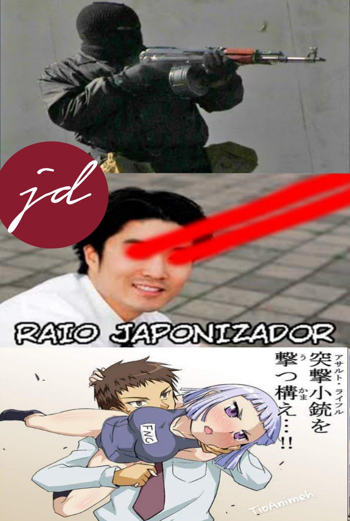 Los tiroteos en Japón deben ser muy kawaiis - meme