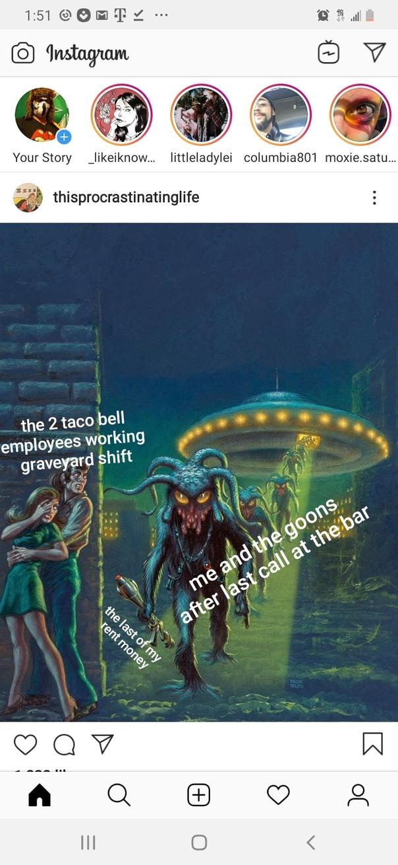 Alien vs sexual predators - meme