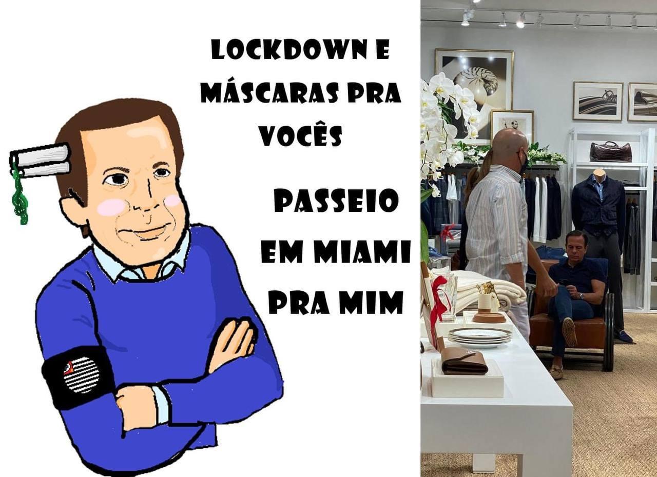 João Doria = Lixo Humano - meme