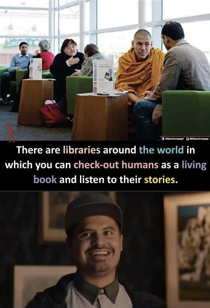 His stories are the best - meme