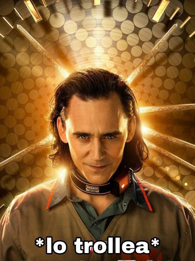 Loki, mas conocido como EL DIOS DEL TROLLEO - meme