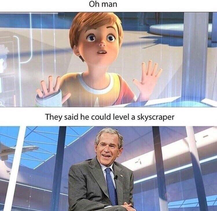 Bush for DLC - meme