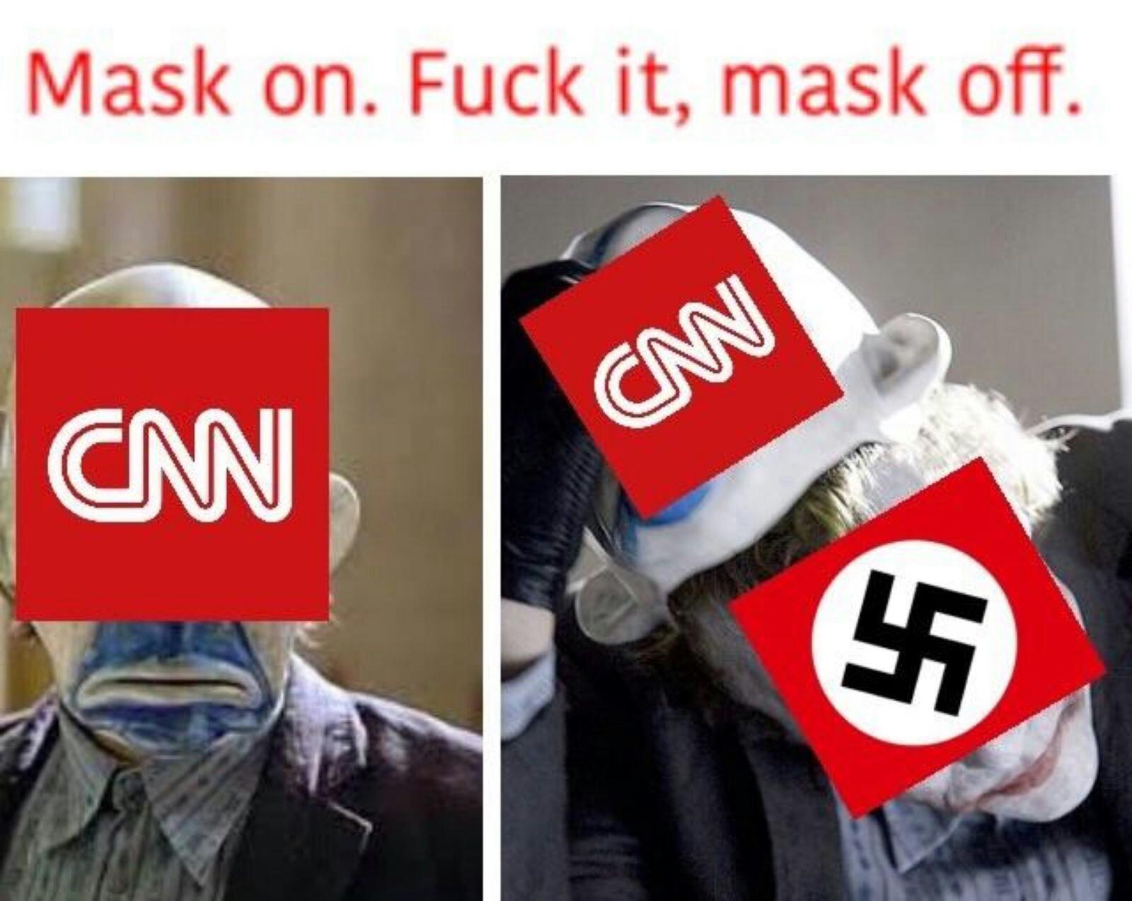 Fuck it mask off - meme