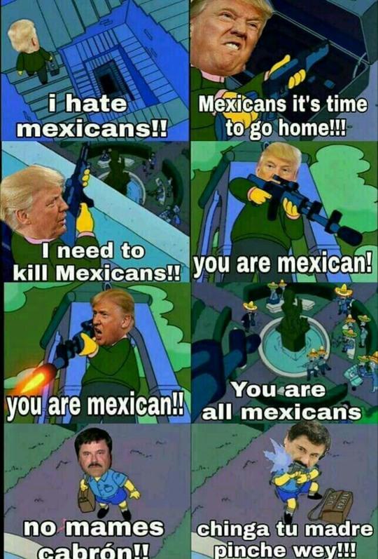 fucking Trump wey - meme