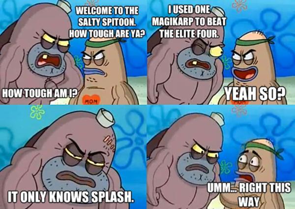 Splash damage - meme
