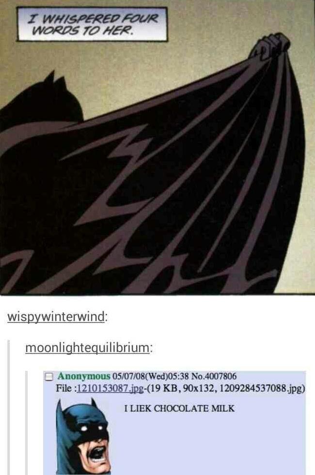 I is Batman - meme