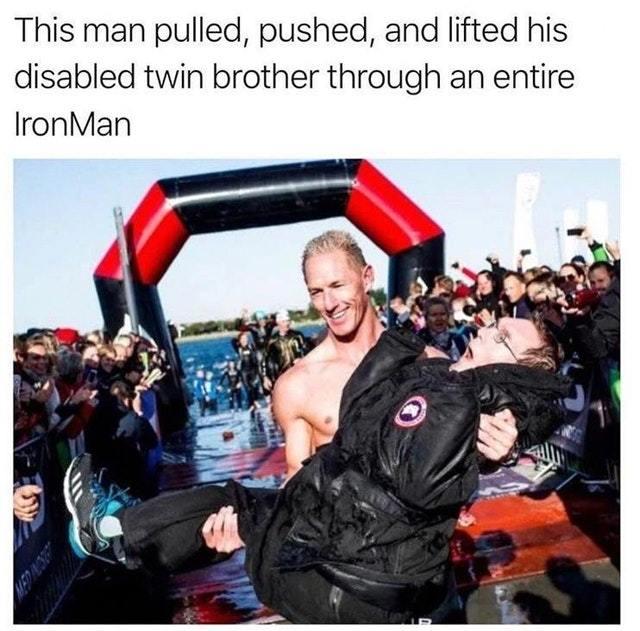 The real Iron Man - meme