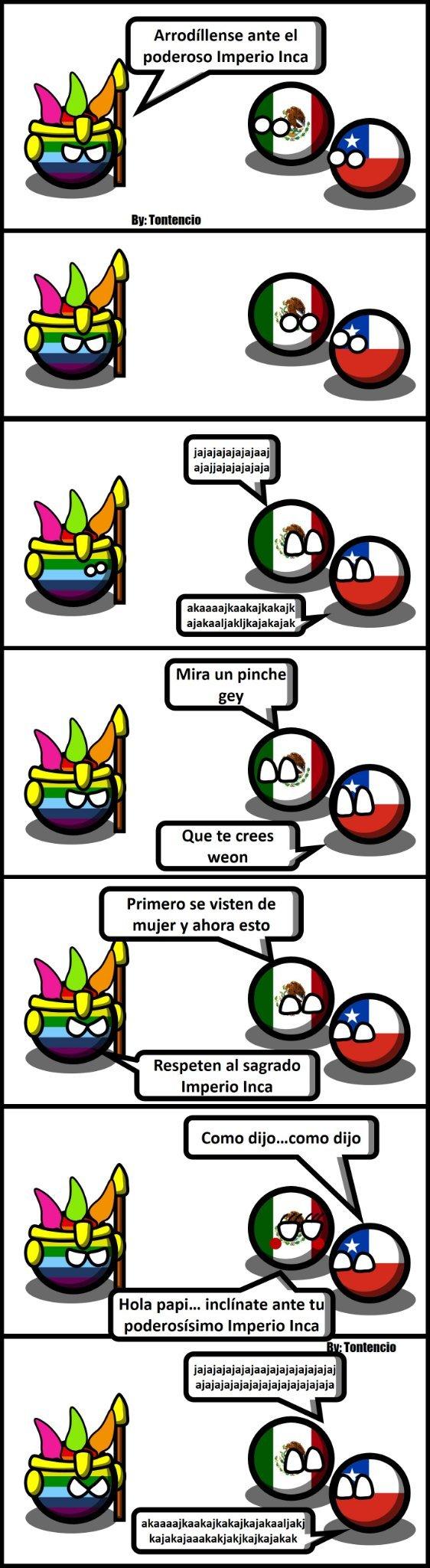 Imperio Inca - meme