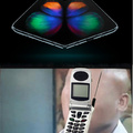 The first foldable phone, really?