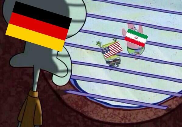 Alemania no es una falsa deprimida - meme