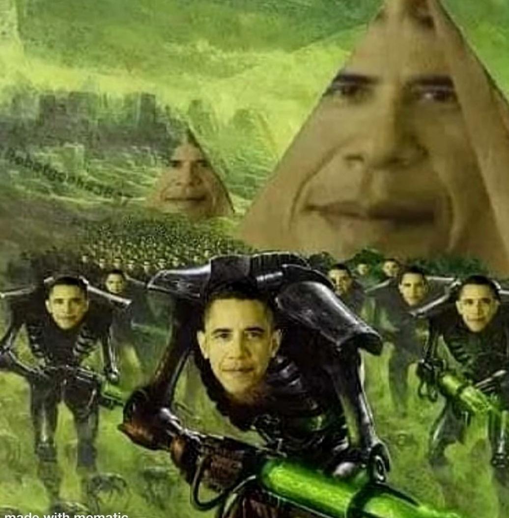 Finalmente... Ejército obamium - meme