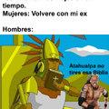 Lamento que sea una animación es que no encontré una foto de Atahualpa así