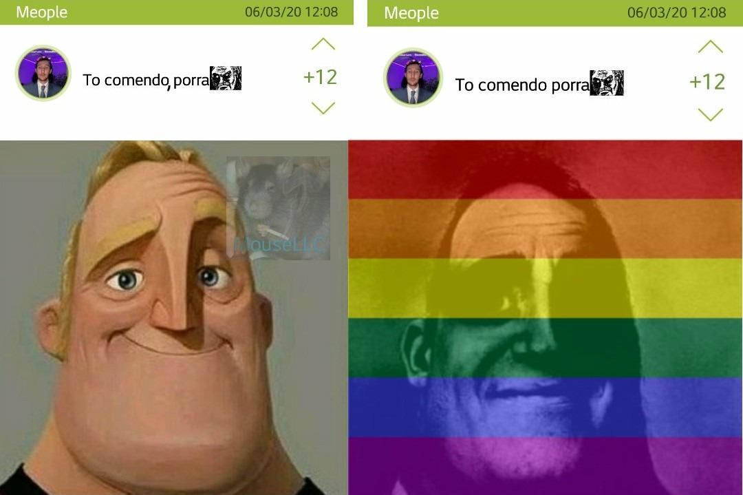 A diferença de uma virgula - meme