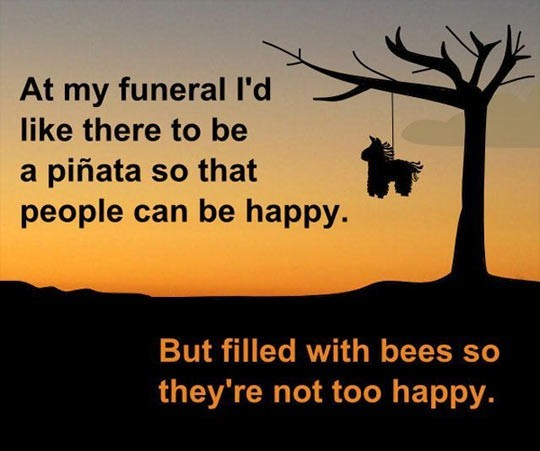 My Funeral - meme