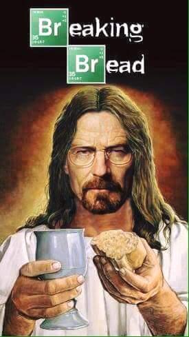 Praise white Jesus! - meme
