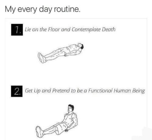 Favorite workout? - meme
