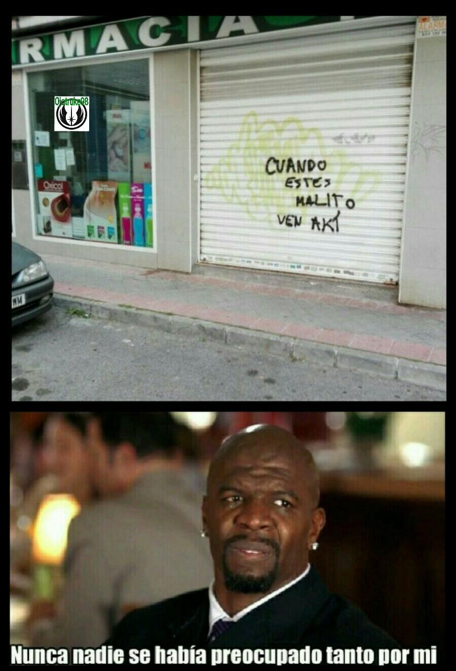 La farmacia del barrio - meme
