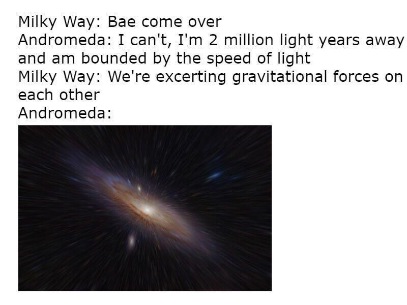 Andromeda - meme