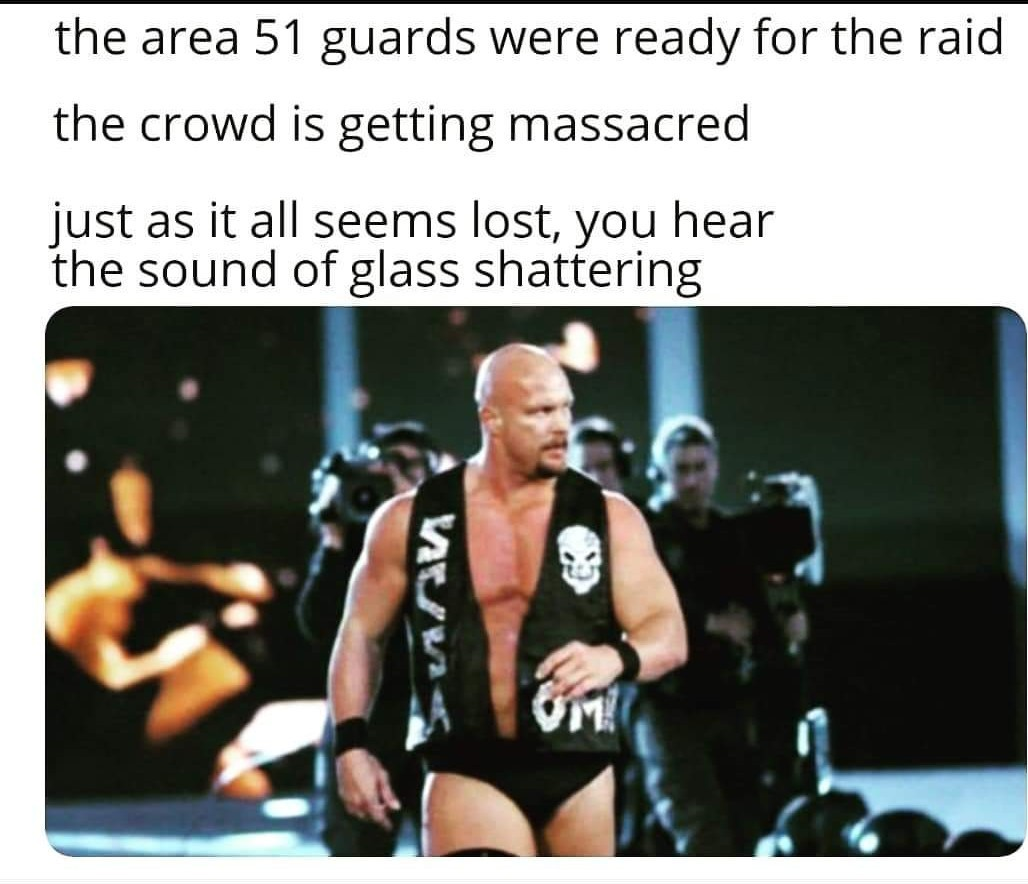 From the guard posts with a steel chair - meme