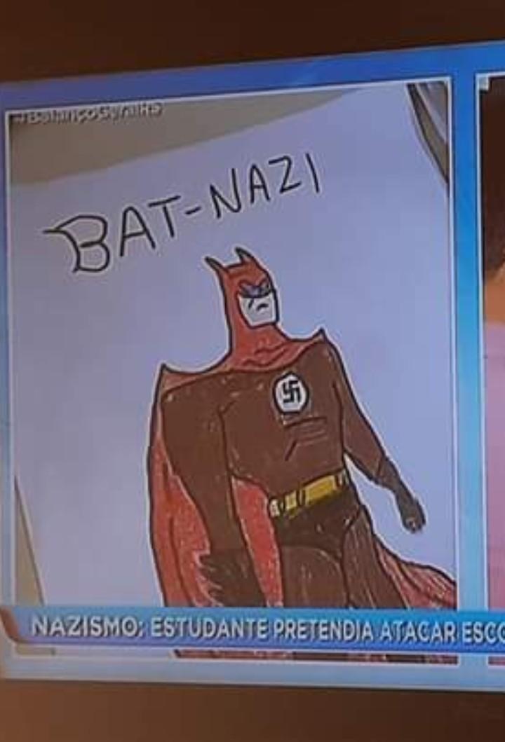 Morcegos arianos - meme