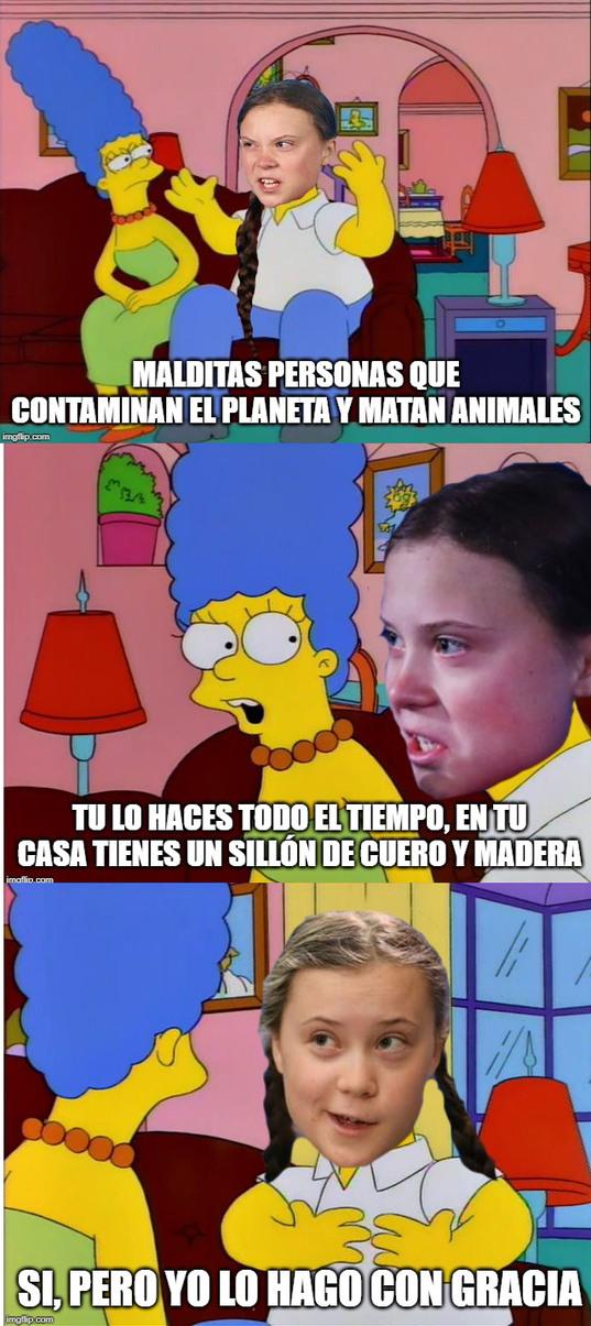 greta thumbergas - meme