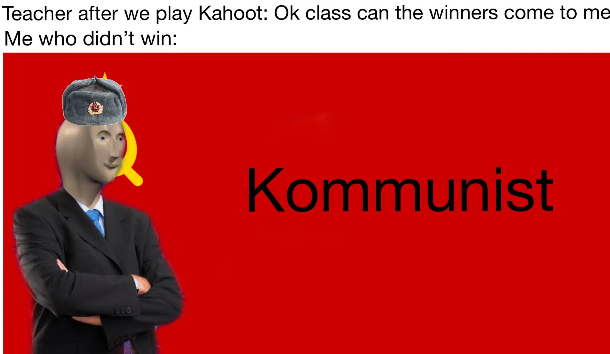 Kommunist - meme