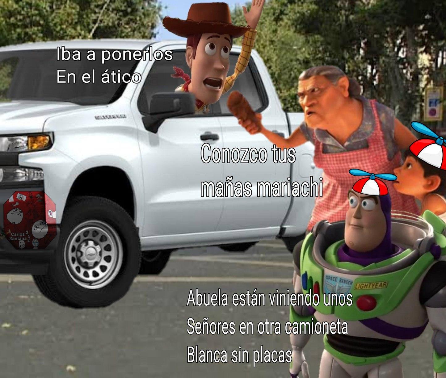 Woody vende órganos internos - meme
