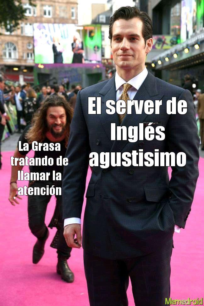 Atención!! La grasa está atacando al server en Inglés, esto no es un simulacro....estamos recibiendo un ataque de la Grasa - meme